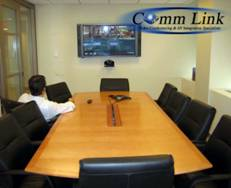 Installation of Display Video Conferencing System