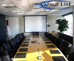 Installation of Projector Video Conferencing